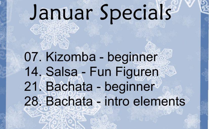 Specials im Januar