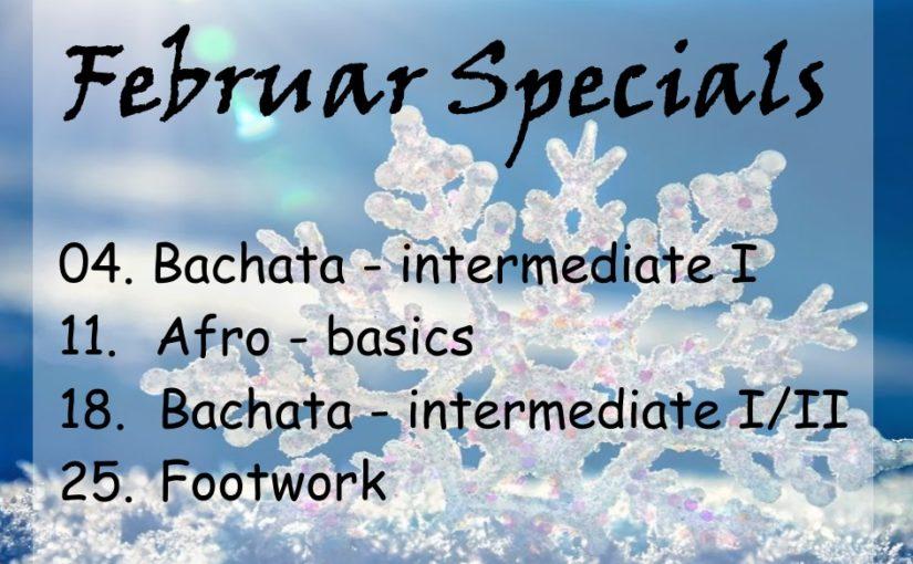 Die Specials im Februar