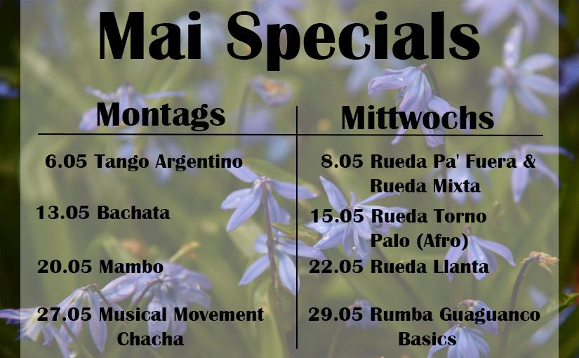Specials im Mai