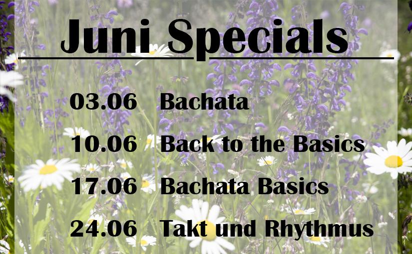 Specials in Juni